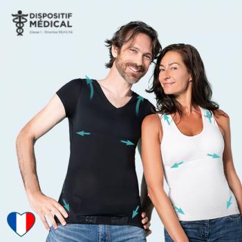 Le T-shirt postural Percko
